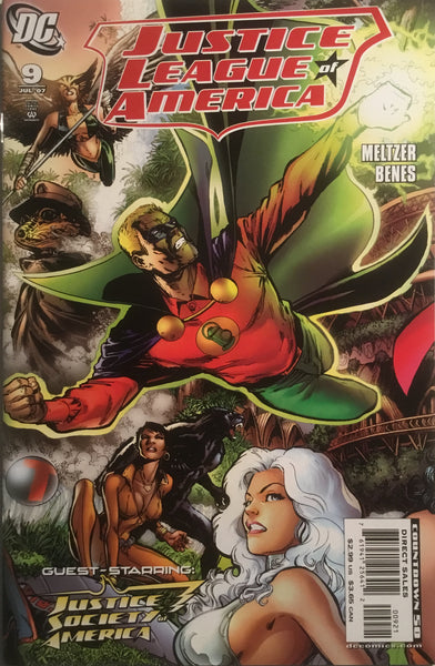 JUSTICE LEAGUE OF AMERICA (2006-2011) # 09 JIMENEZ 1:10 VARIANT