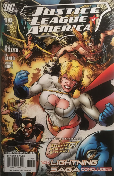 JUSTICE LEAGUE OF AMERICA (2006-2011) # 10 JIMENEZ 1:10 VARIANT