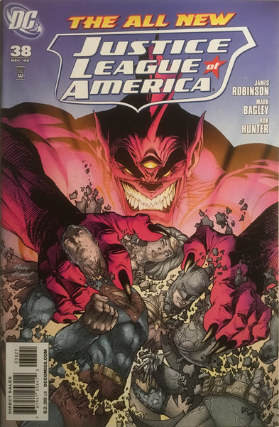 JUSTICE LEAGUE OF AMERICA (2006-2011) # 38 KUBERT 1:25 VARIANT