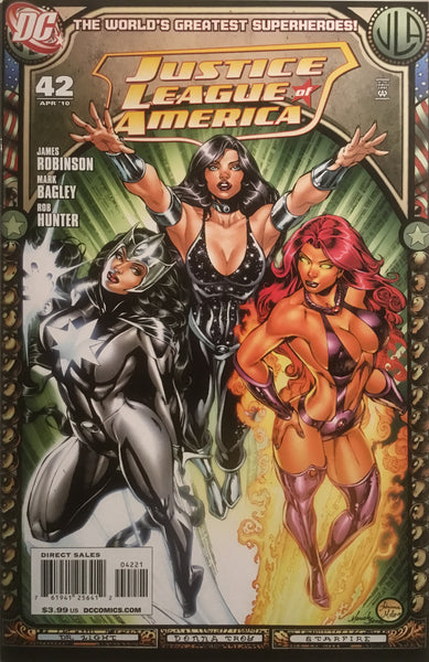 JUSTICE LEAGUE OF AMERICA (2006-2011) # 42 BENES 1:25 VARIANT