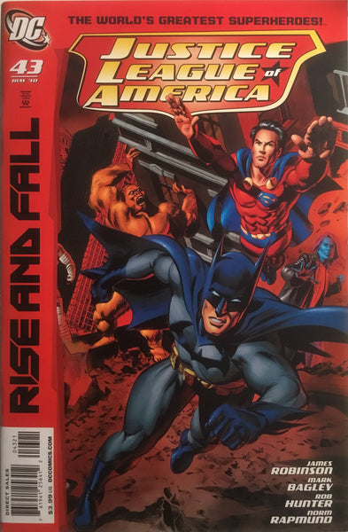 JUSTICE LEAGUE OF AMERICA (2006-2011) # 43 MAYHEW 1:25 VARIANT