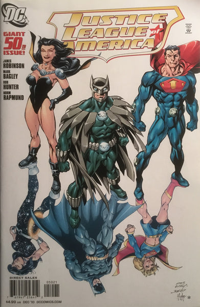 JUSTICE LEAGUE OF AMERICA (2006-2011) # 50 BAGLEY 1:10 VARIANT