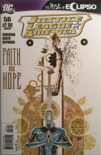 JUSTICE LEAGUE OF AMERICA (2006-2011) # 56 MACK 1:10 VARIANT