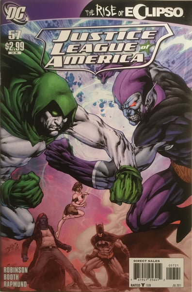 JUSTICE LEAGUE OF AMERICA (2006-2011) # 57 BENES 1:10 VARIANT