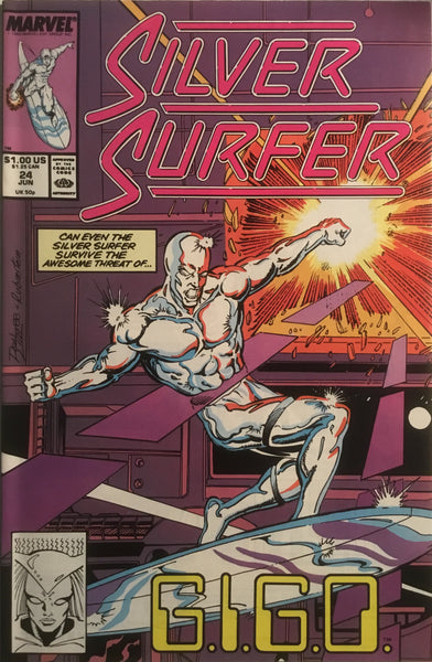SILVER SURFER (1987-1998) # 24