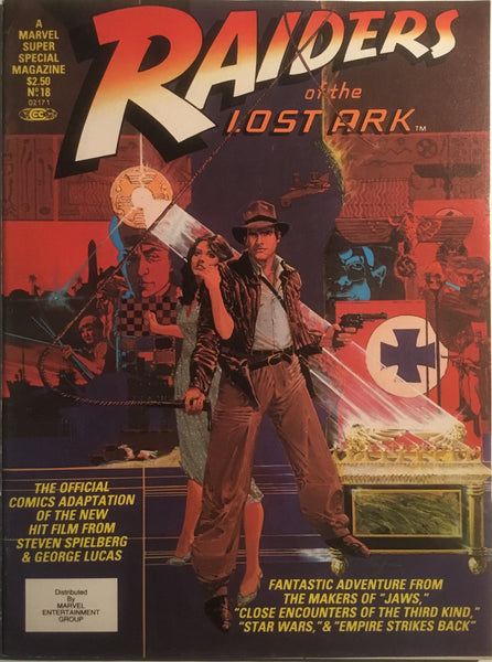 RAIDERS OF THE LOST ARK (MARVEL SUPER SPECIAL) 1981