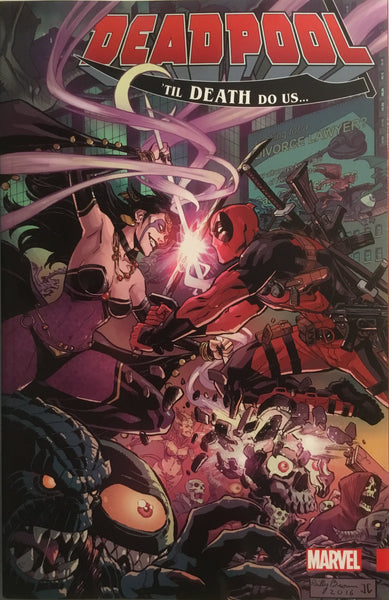 DEADPOOL WORLD'S GREATEST VOL 08 'TIL DEATH DO US... GRAPHIC NOVEL