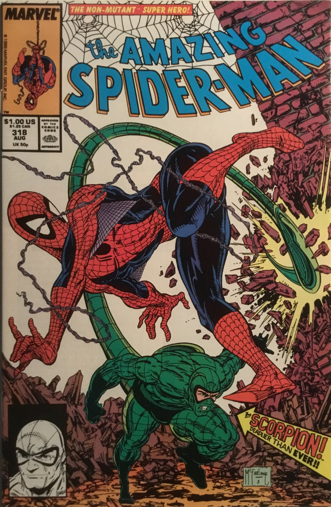 AMAZING SPIDER-MAN (1963-1998) # 318