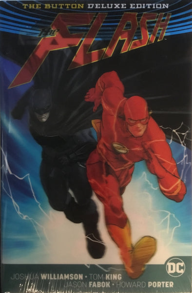 BATMAN/FLASH THE BUTTON (REBIRTH) DELUXE EDITION HARDCOVER GRAPHIC NOVEL