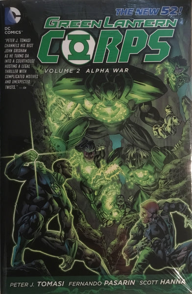 GREEN LANTERN CORPS (NEW 52) VOL 2 ALPHA WAR HARDCOVER GRAPHIC NOVEL