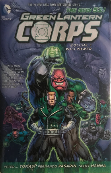 GREEN LANTERN CORPS (NEW 52) VOL 3 WILLPOWER HARDCOVER GRAPHIC NOVEL