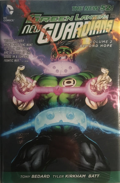 GREEN LANTERN NEW GUARDIANS (NEW 52) VOL 2 BEYOND HOPE HARDCOVER GRAPHIC NOVEL