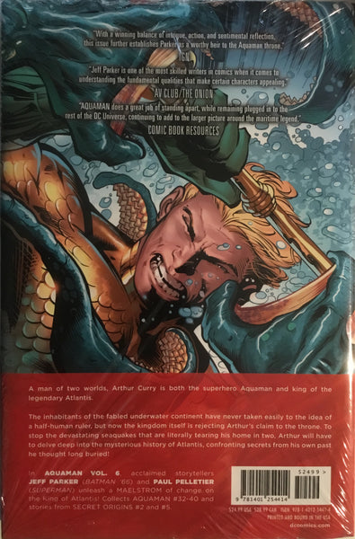 AQUAMAN (NEW 52) VOL 6 MAELSTROM HARDCOVER GRAPHIC NOVEL