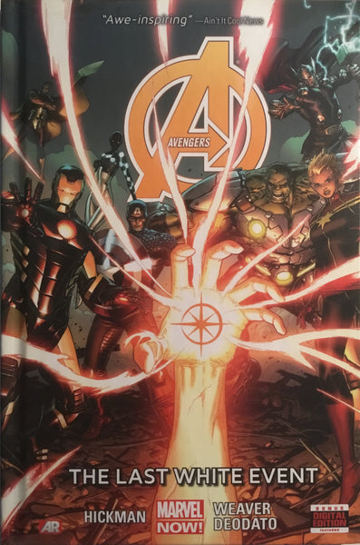 AVENGERS VOL 2 THE LAST WHITE EVENT HARDCOVER GRAPHIC NOVEL