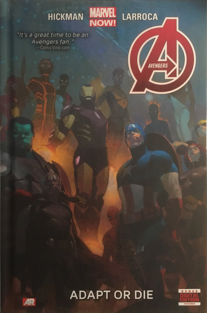 AVENGERS VOL 5 ADAPT OR DIE HARDCOVER GRAPHIC NOVEL