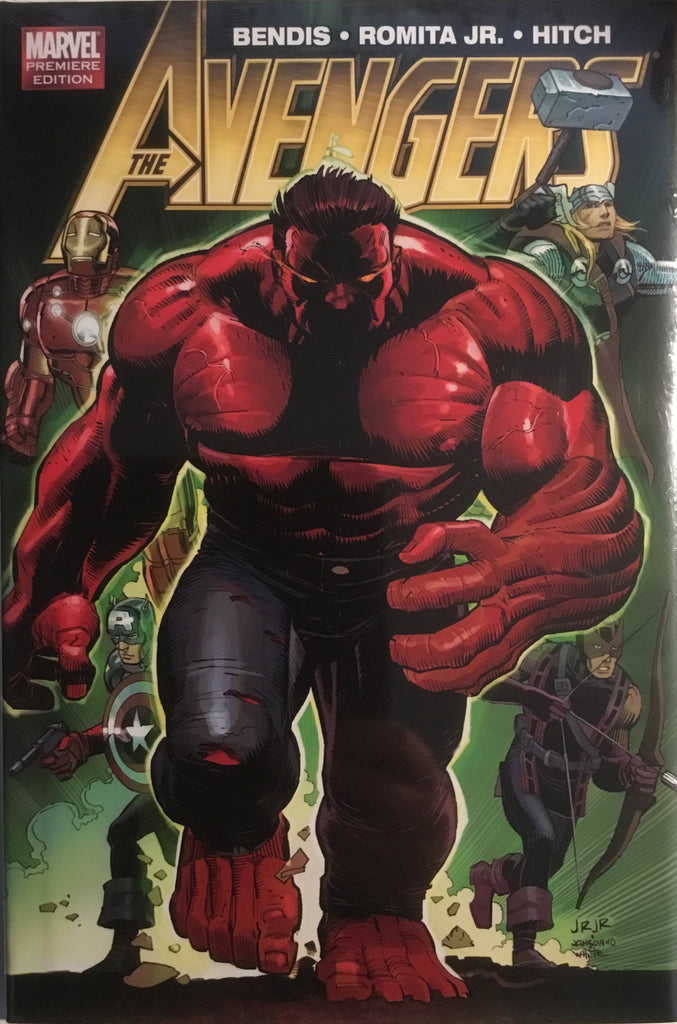 AVENGERS BY BRIAN MICHAEL BENDIS VOL 2 HARDCOVER GRAPHIC NOVEL