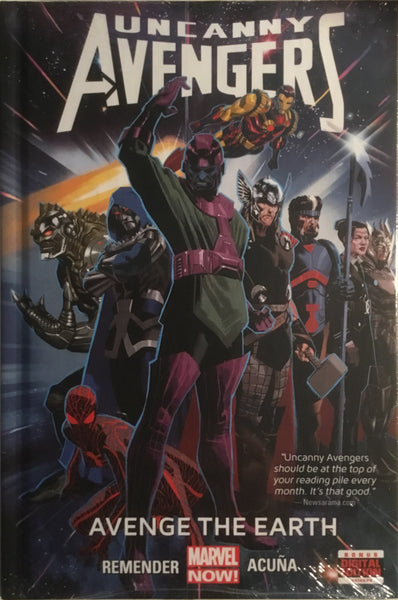 UNCANNY AVENGERS VOL 4 AVENGE THE EARTH HARDCOVER GRAPHIC NOVEL