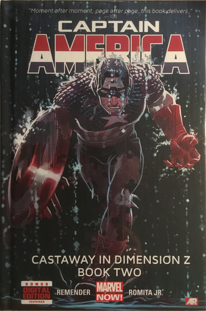 CAPTAIN AMERICA (2012) VOL 2 CASTAWAY IN DIMENSION Z BOOK 2 HARDCOVER GRAPHIC NOVEL