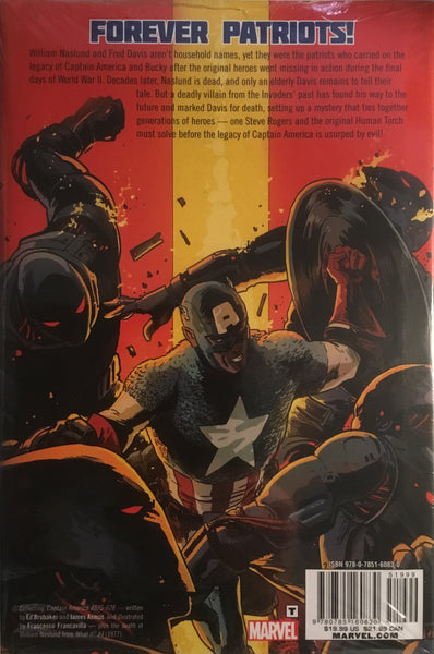 CAPTAIN AMERICA AND BUCKY OLD WOUNDS HARDCOVER GRAPHIC NOVEL