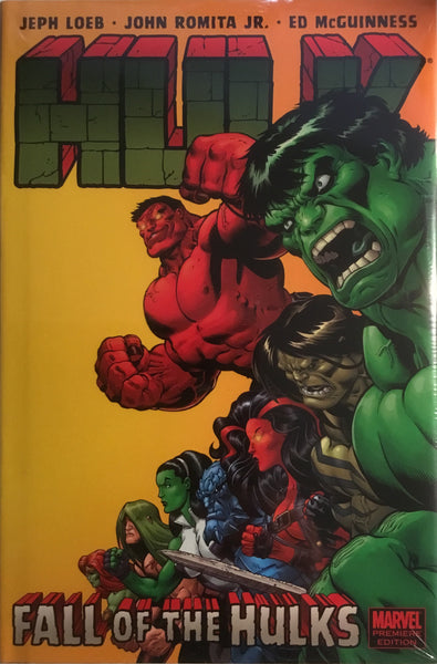 HULK VOL 5 FALL OF THE HULKS HARDCOVER GRAPHIC NOVEL