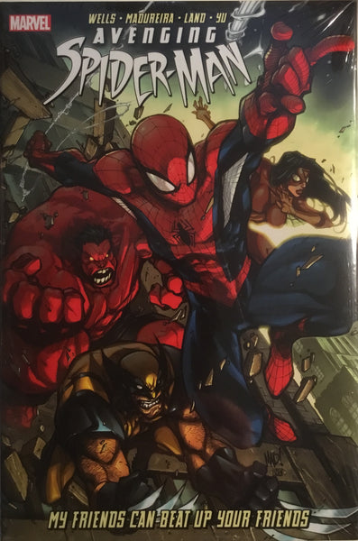 AVENGING SPIDER-MAN VOL 1 MY FRIENDS CAN BEAT UP YOUR FRIENDS HARDCOVER GRAPHIC NOVEL