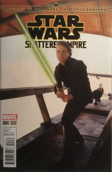STAR WARS SHATTERED EMPIRE # 4 MOVIE PHOTO 1:25 VARIANT COVER