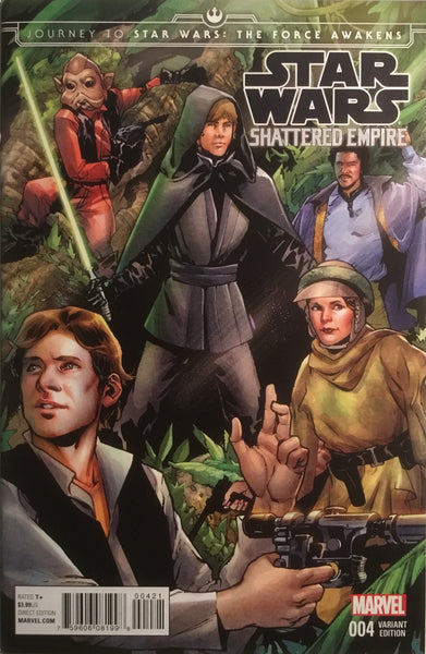 STAR WARS SHATTERED EMPIRE # 4 PICHELLI 1:25 VARIANT COVER