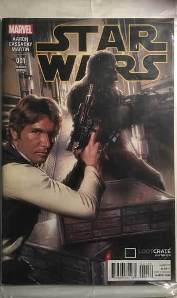 STAR WARS (2015-2020) # 1 LOOT CRATE EXCLUSIVE VARIANT COVER