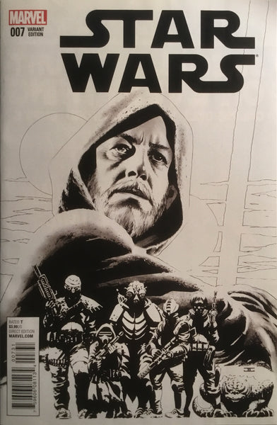 STAR WARS (MARVEL) # 7 CASSADAY SKETCH 1:100 VARIANT COVER