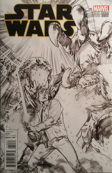 STAR WARS (2015-2020) #10 IMMONEN SKETCH 1:100 VARIANT COVER