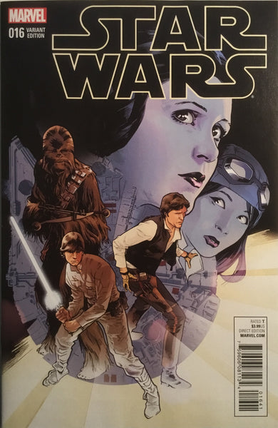 STAR WARS (2015-2020) #16 IMMONEN 1:25 VARIANT COVER