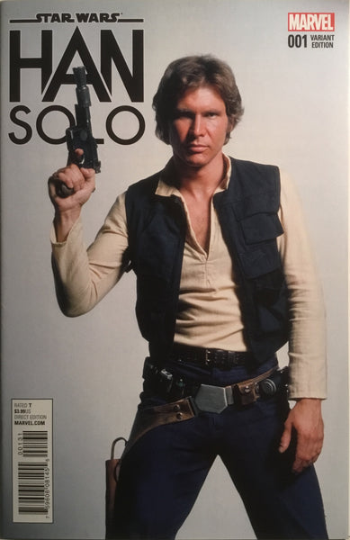 STAR WARS HAN SOLO # 1 MOVIE PHOTO 1:15 VARIANT COVER