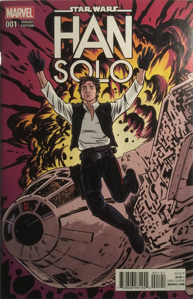 STAR WARS HAN SOLO # 1 ALLRED 1:25 VARIANT COVER