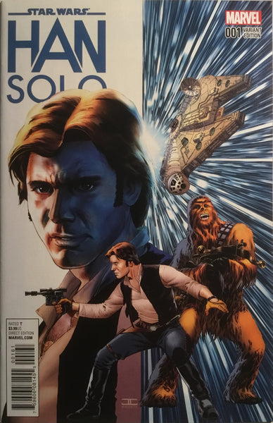 STAR WARS HAN SOLO # 1 CASSADAY 1:50 VARIANT COVER