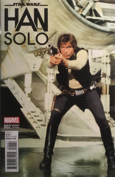 STAR WARS HAN SOLO # 2 MOVIE PHOTO 1:15 VARIANT COVER
