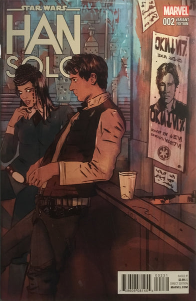 STAR WARS HAN SOLO # 2 LOTAY 1:25 VARIANT COVER