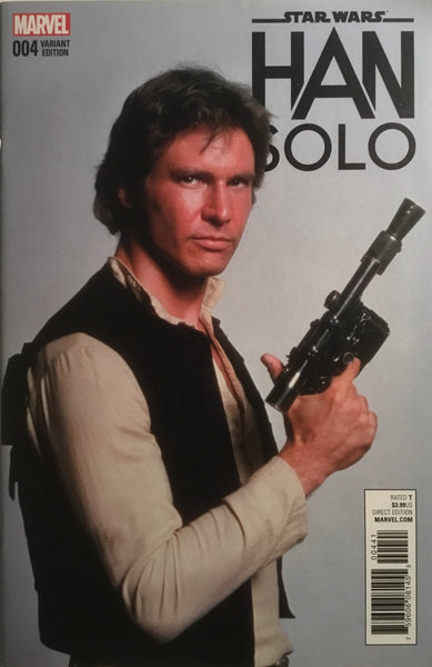STAR WARS HAN SOLO # 4 MOVIE PHOTO 1:15 VARIANT COVER