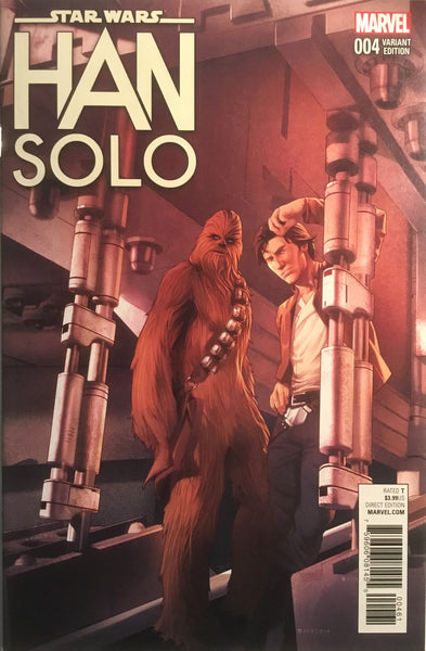 STAR WARS HAN SOLO # 4 CAMPBELL 1:25 VARIANT COVER