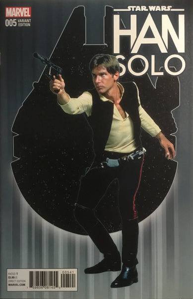 STAR WARS HAN SOLO # 5 MOVIE PHOTO 1:15 VARIANT COVER