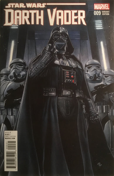 STAR WARS DARTH VADER # 9 GRANOV 1:25 VARIANT COVER