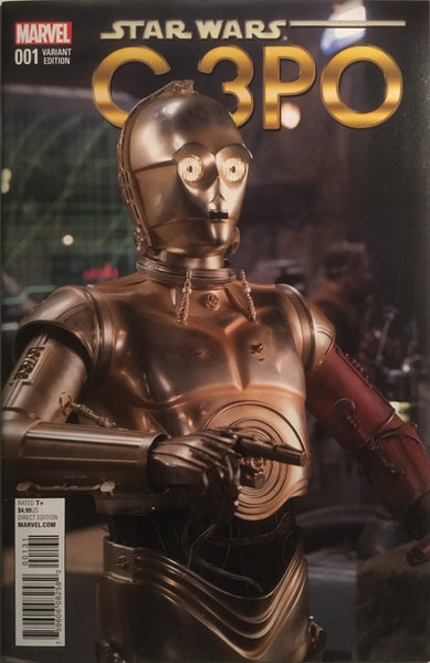 STAR WARS C-3PO # 1 MOVIE PHOTO 1:15 VARIANT COVER