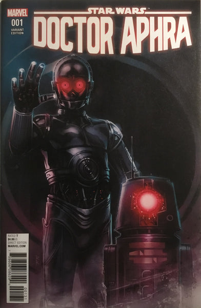 STAR WARS DOCTOR APHRA # 1 REIS 1:25 VARIANT COVER