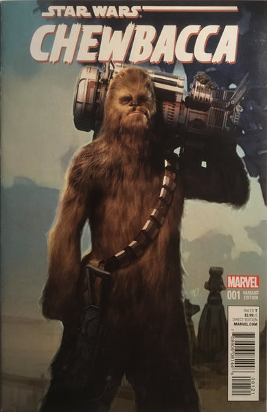 STAR WARS CHEWBACCA # 1 OLIVETTI 1:25 VARIANT COVER