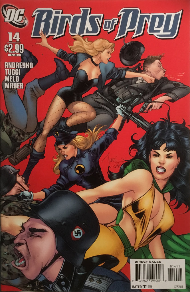 BIRDS OF PREY (2010-2011) # 14