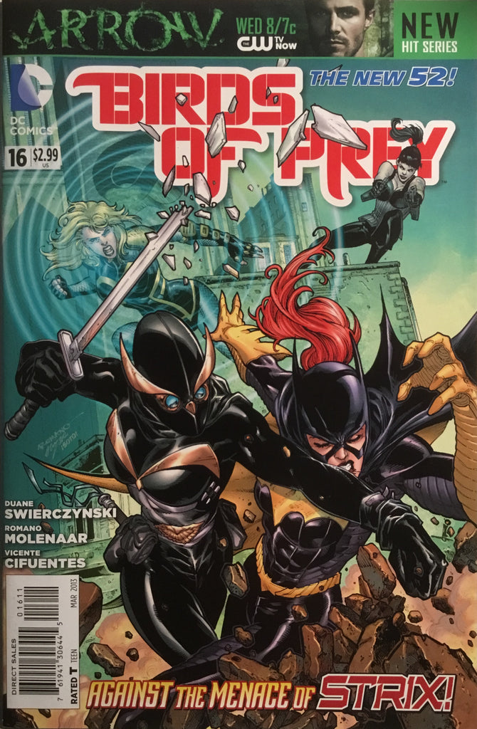 BIRDS OF PREY (NEW 52) # 16