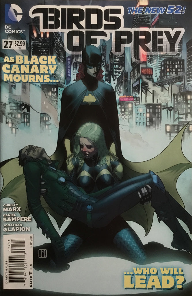 BIRDS OF PREY (NEW 52) # 27
