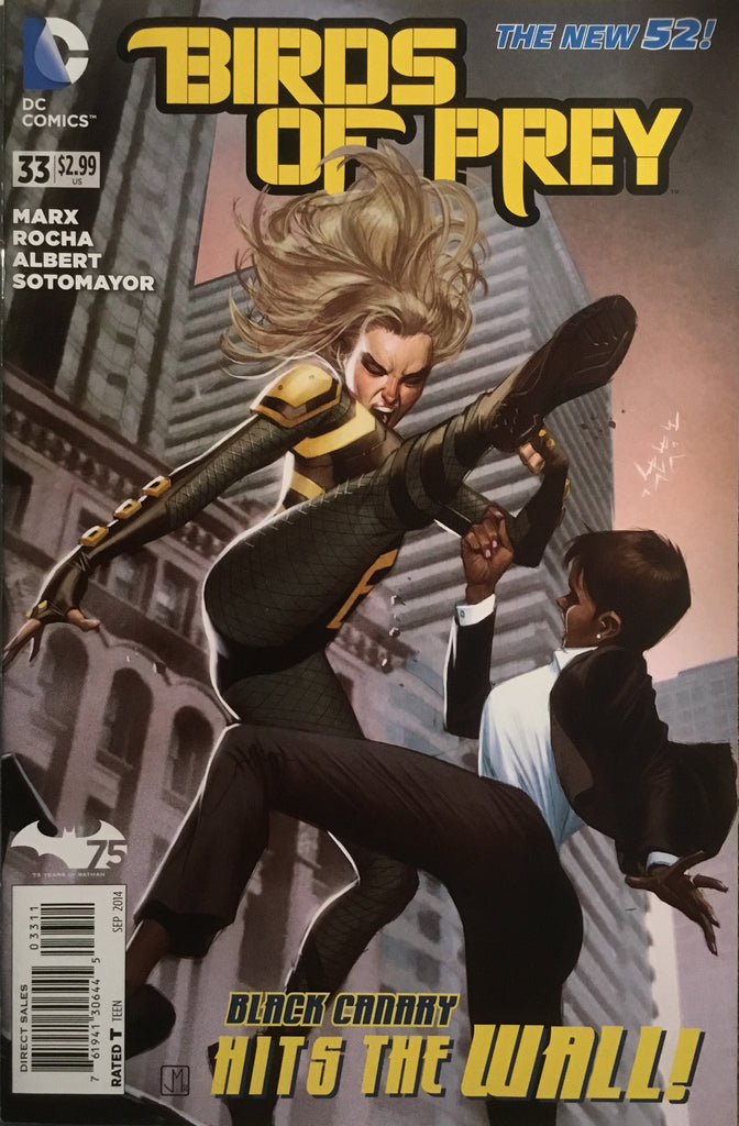 BIRDS OF PREY (NEW 52) # 33