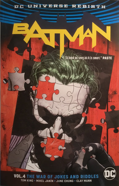 BATMAN (REBIRTH) VOL 04 THE WAR OF JOKES AND RIDDLES GRAPHIC NOVEL