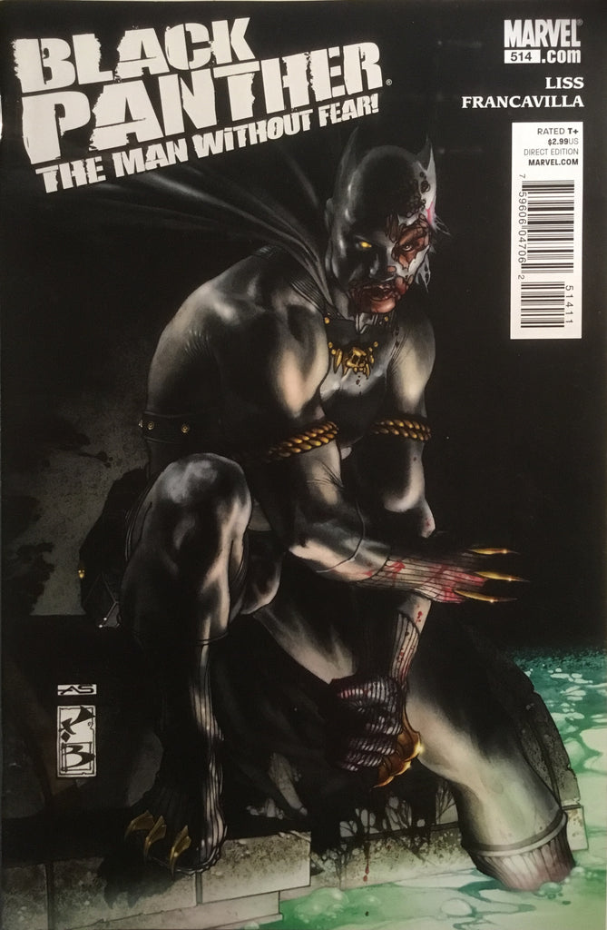 BLACK PANTHER THE MAN WITHOUT FEAR # 514