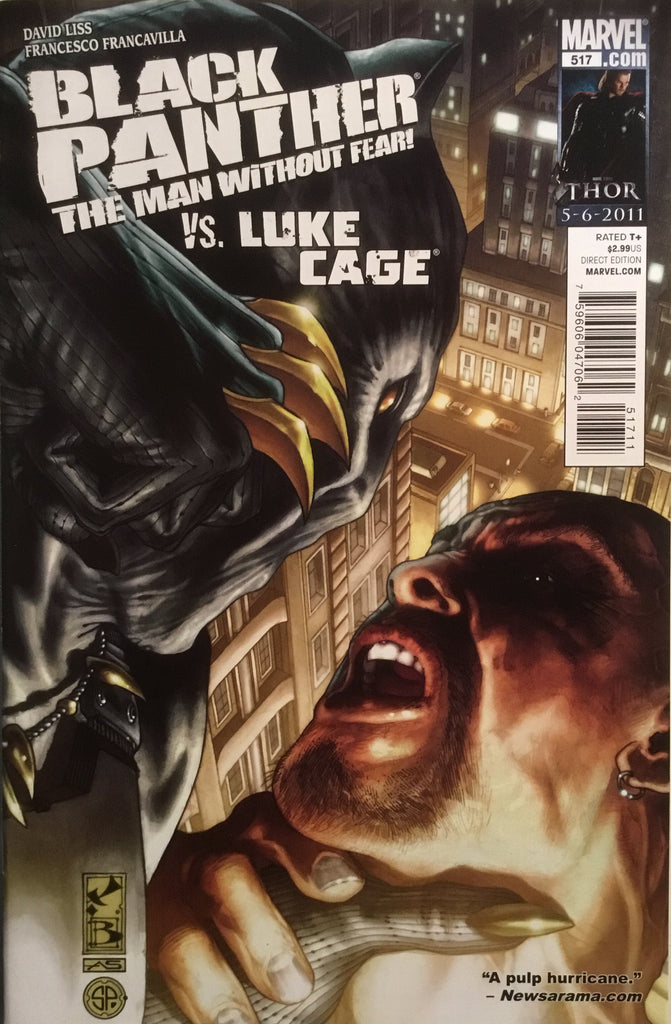 BLACK PANTHER THE MAN WITHOUT FEAR # 517